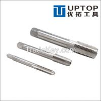 HSS thread tap with straight fluted and sprial fluted