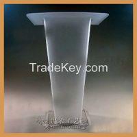 Guihe high quality acrylic podium, 2015 new plexiglass pulpit
