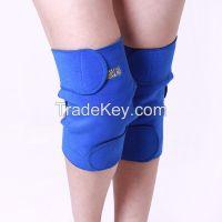Knee healthcare magnetic pain relief heated knee sleeve kneepads