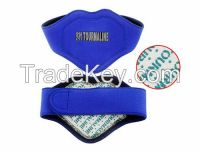 Tourmaline neck support wrap heating self magnetic therapy