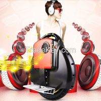 solowheel scooter Bluetooth music electric hoverboard Monocycle Single wheel Self Balancing Portable unicycle personal transporter free shi