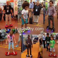 New electric Scooter self balancing scooter Two wheel Unicycle bluetooth speaker led Samsung Battery Smart balance hoverboard top quality free shipping