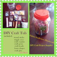 DIY Arts and Crafts Kits in Jar for kids Age3+