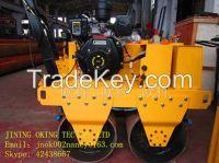 OK-S600 double steel wheel gasoline roller