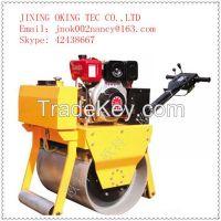 OK-600 Single wheel gasoline roller