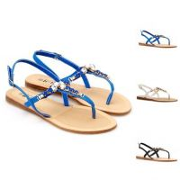 2015 Fashion Ladies Shoes Flat Fancy Women Party Dress Sandals 44GJ10