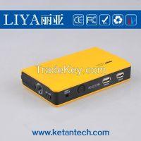 Multi function portable car Jump Starter 12v 8800mah for car, laptop, phone