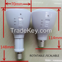 2015 OEM/ODM flashlight rechargeable emergency light bulb