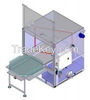 Atom automatic medium and large mechanical parts washer
