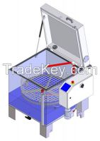 Simplex Small automatically medium and small mechanical parts washer.