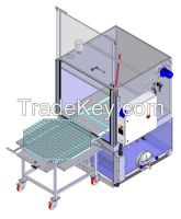 Simplex Big automatically medium and large mechanical parts washer.
