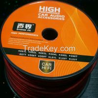 High quality 8 AWG OFC power cable for car audio