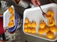 canned yellow peach 3kg halves