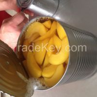 canned yellow peach 3kg sliced
