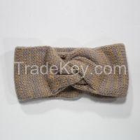 100% Acrylic Knitting Headband, garment accessory, knitwear