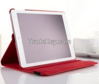 Rotation Pu leather cases for iPad Air
