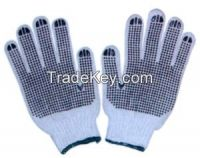 Knit Dotted Gloves