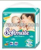 OEM disposable baby diaper