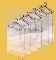 Customized suit garment bag direct sell ,plastic suit cover,Transparent suit bag