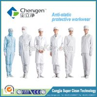 Anti-static garments for ISO 5 (class 100) cleanroom workplace