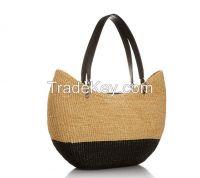 2015 Fashion hobo bag leather hobo bag straw handbag for woman