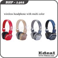 new products V3.0 BT version portable stereo headphone with microphone LED indicator