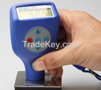 GTS8102 Fe&NFe coating thickness gauge with build-in probe by GuoOu
