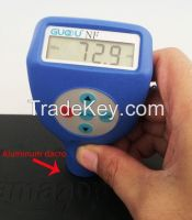 Plastic film coating thickness gauge