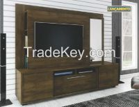 Modern TV Stand model Munique 1, 8h x 1, 85w x 0, 45d TV up to 47""