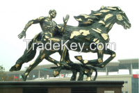 Sporting bronze Sculpture