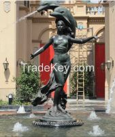 Outdoor Bronze Nude Female Sculpture