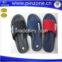 Rubber outsole for man Net cloth outdoor slipper