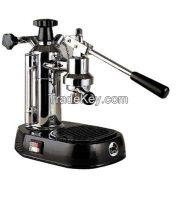 La Pavoni Europiccola Manual Espresso Machine - Black EPBB-8