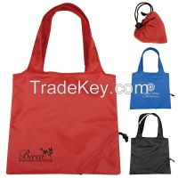 210D Polyester Foldable Tote Bags Shopping Bags Promotion Bags/Sacchetto/Sac De Courses/Einkaufstasche