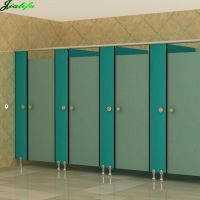 Toilet cubicle compact HPL waterproof and durable