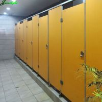 Toilet cubicle HPL paper laminated panels for hotel