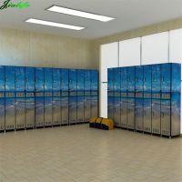 Compact hpl locker digital printed design