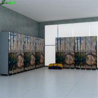 Gym locker compact hpl sheet digital printed design