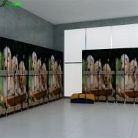 Gym locker compact hpl panel digital printed design