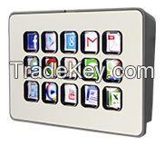 "iDisplay 4.3"" 3x5 TFT Display Push Button"