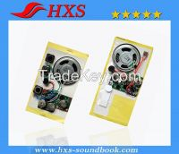Pull Tab  Recordable Electronic Greeting Card Sound Chip