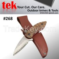 damascus fixed blade hunting knives of cutting tools