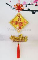 2015 year Chinese Style plastic hanging ornament for home decoration