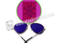 Invisible Ink Vintage And Fashionable Invisible Sunglasses For Marked Playing Cards