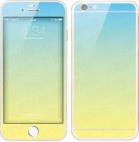 Front glass color film iPhone6 plus transition effects can be customized steel color film