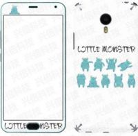 �Note2 glass charm blue body color film before and after the explosion-proof film pattern custom cartoon factory direct