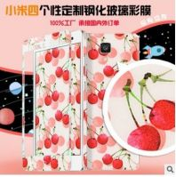 Millet 4 front glass color film body cartoon explosion-proof film pattern personalized custom factory outlets