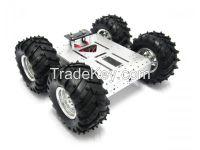 4WD Aluminum Mobile Robot off Road Platform Without Electronic Control -Alsrobotbase