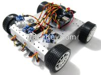 4WD Mobile Robot Car with Tracking and Avoidance System-alsrobotbase
