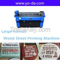 High resolution 1440dpi wood sheet uv flatbed printer machinery price